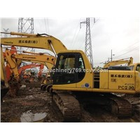 Used Excavator Used Heavy Equipment (PC200-6) Komatsu Excavator