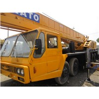 Used Japan Kato NK500E mobile crane