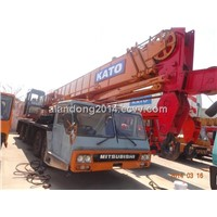 Used Kato NK-400E Wheel Crane