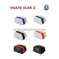 Vgate iCar 2 BT/ OBDII Support Android/PC/Blackmerry Car Interface Tool super mini elm327 OBD2