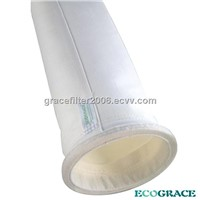 Water Resistant Polyester Filter Bag , Dust Collector Bags For Chemical Industry