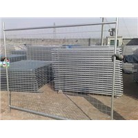 Welded Wire Mesh Temporary Fencing with High Visibility