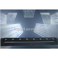 White 8x10W LED Beam Moving Bar, Dmx512, M/S,Auto,Sound control.Strong beam Light effect