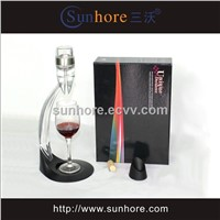 Wine Aerator Decanter Set