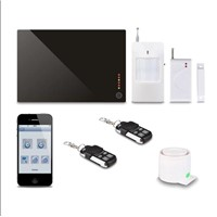 Wireless GSM alarm system for fair and security protection with multi-language
