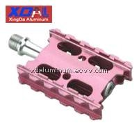 XD-PD-R12 Lightweight aluminum alloy road city bike flat pedals Pink color