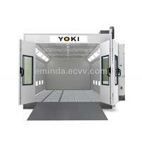 YK-360 CE Spray Paint Baking Booth(oil burner)