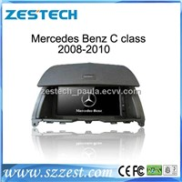 ZESTECH car dvd player with GPS Navigation for Mercedes Benz C class 2008-2010 stereo audio radio