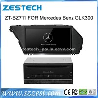 ZESTECH car dvd player with GPS Navigation for Mercedes Benz GLK300 stereo audio radio