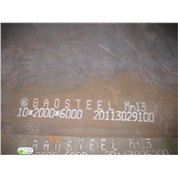 abrasion resistant steel plate X120Mn12 Mn13