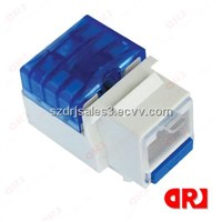 china UTP rj45 cat6 keystone jack