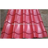 color coated sheet/galvanized roofing sheet/roofing materials