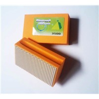 diamond abrasive hand polishing pads abrasive sponge block
