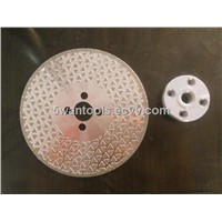 electroplate vanity diamond grinding and cutting wheels, triangle diamond coated cutting blade