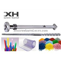 fiber screw barrel extruding for Plastic Film Co-Extrusion