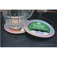 glass cup coaster