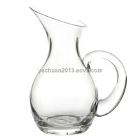 glass milk jar