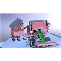 gold sieving machine
