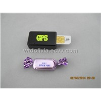 gps tracker with Pinhole camera,just like a chewing gum, easy to hid
