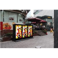 high brightness sunlight readable lcd advertising poster