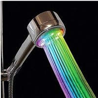 high quality led music shower head