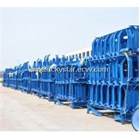 idler frames for conveyor