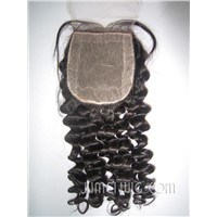 natural wave silk base top closure