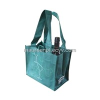non woven wine bag for 4 bottles