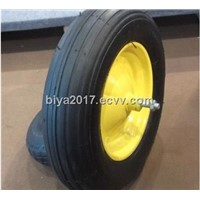 environment-friendly pneumatic wheelbarrow wheel and hand truck wheel4.00-6