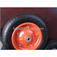 eco-friendly pneumatic wheelbarrow wheel and hand truck wheel 5.00-6
