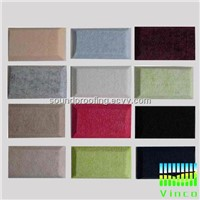 polyester sound absorbing board,stock for sale