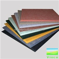 polyester sound absorbing floor,stock for sale