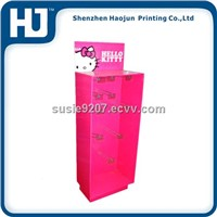 shenzhen custom cardboard paper display with hook
