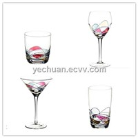 wine glass water glass