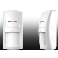 wireless Security alarm accessories PIR infrared motion detector for Alarm System