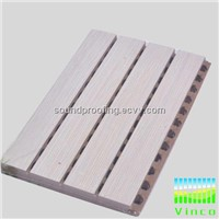wooden perforated acoustic panel,stock for sale
