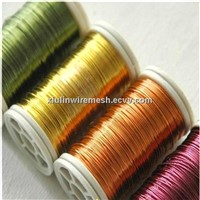 supply color craft wire 0.1-0.3mm