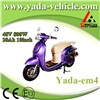 48v 800w 20ah 10inch drum brake mini fashion style electrical scooter motorcycle (yada em4)
