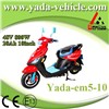 48v 800w 20ah 10inch drum disc brake mini sport style electric scooter motorcycle (yada em5-10)