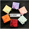 wholesale Jewelry Paper Ring Earring color Gift Box Case