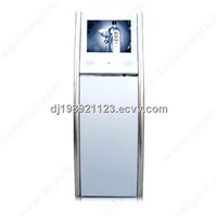 "17"" Kiosk Display Stand, floor standing media player, hotels digital signage"
