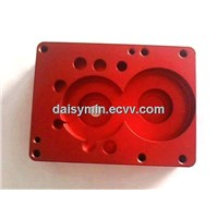 High precision aluminum cnc machined base