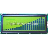 2004 LCD module  RS-232 lcd Display (JQMS2004ACFBYBS)
