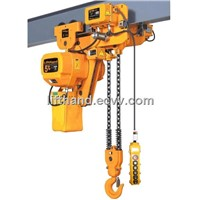 Low Headroom Hoist of Crane
