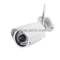 Metal Housing IR Waterproof IP Camera Megapixel Wireless WIFI IP Network Camera