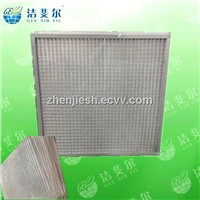 Metal Mesh Pleated Panel Air Pre filter qualified supplier in China
