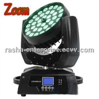 Rasha NEW Coming 36*15W RGBAW 5in1 LED Zoom Moving Head Wash Light,Stage Light