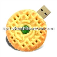 Real Capacity Hot Biscuit 4GB 8GB 16GB USB Flash Key