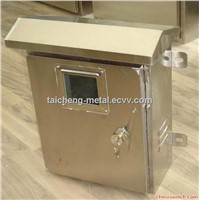 SS304 IP65 outdoor window type distribution box for power supply system