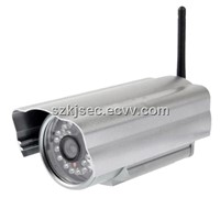 Silver Color Housing IR Waterproof IP Camera Megapixel Wireless WIFI IP Network Camera